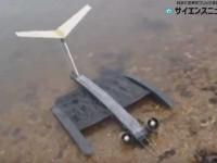 翼の形を自在に変えて効率アップの次世代ドローン 発想のヒントはコウモリから